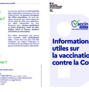 Infos Vaccination et Pass sanitaire